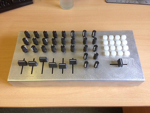 Early prototype - Aluminium Case - Top View