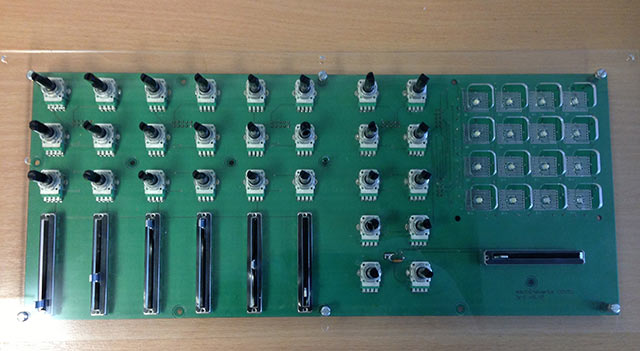 Early prototype PCB